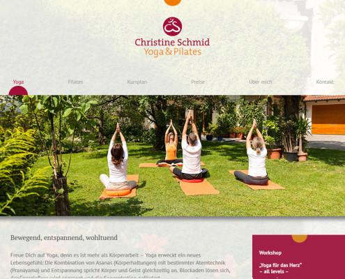 Christine Schmid Yoga & Pilates | Yoga