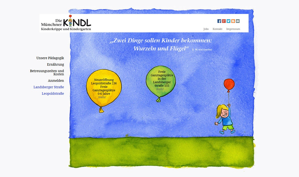 Die Münchner Kindl Kinderkrippen