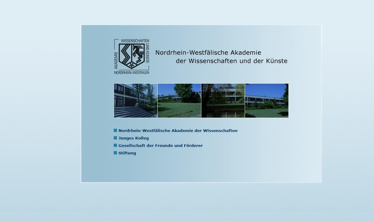 Nordrhein-Westfälische Akademie der Wissenschaften