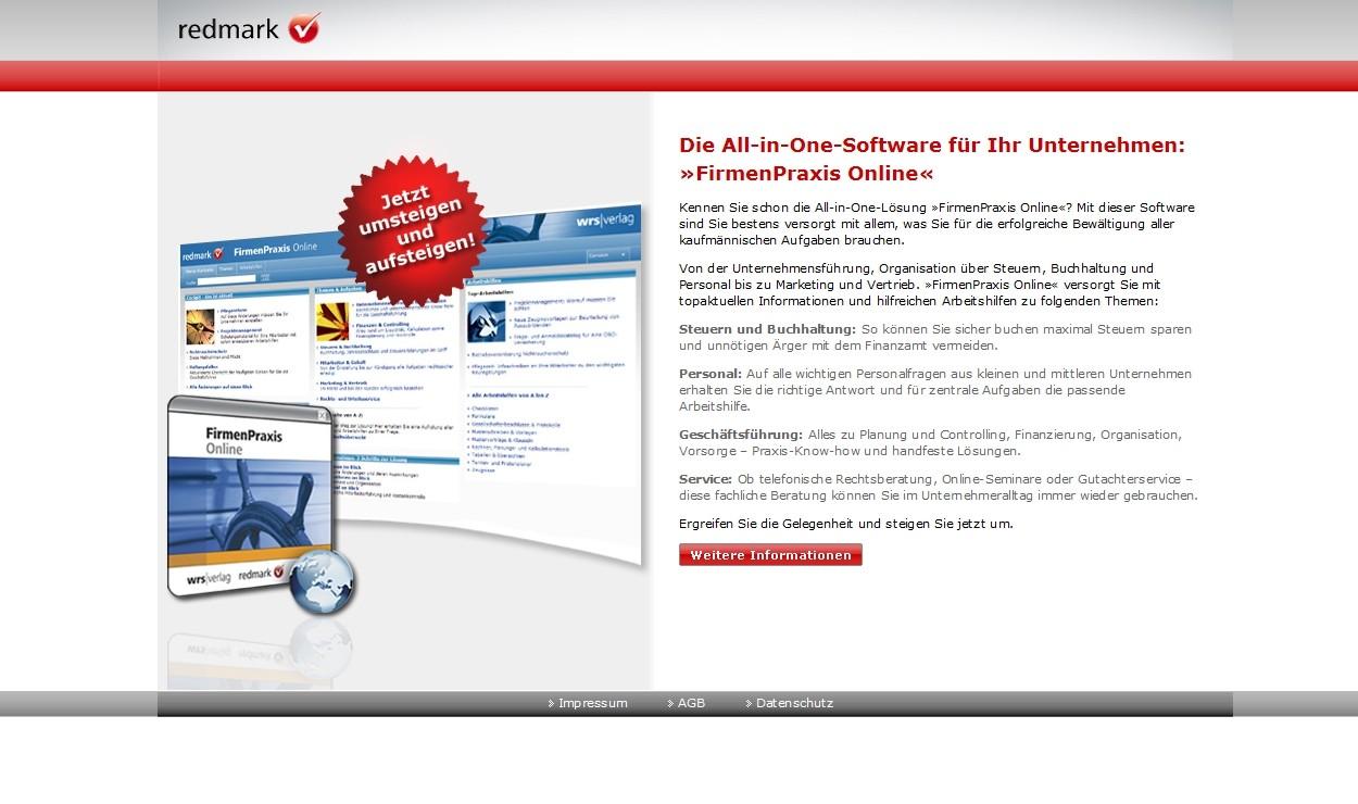 Redmark FirmenPraxis Online