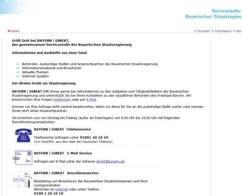 Servicestelle Bayern