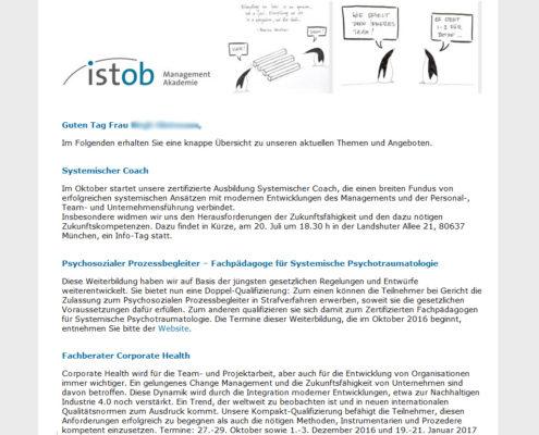 ISTOB Management Akademie